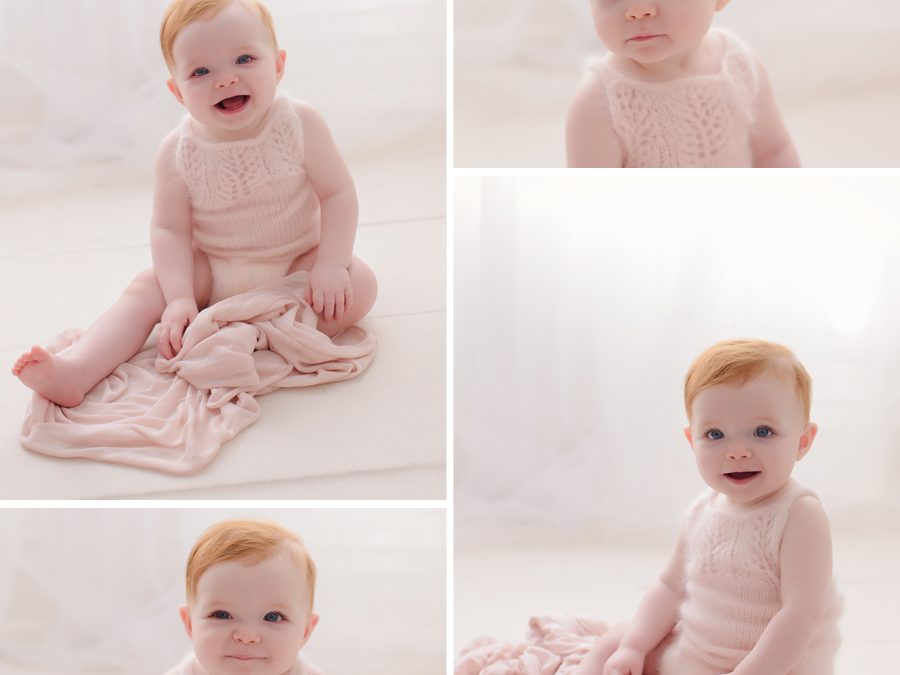 Caremy's first year | Harrisburg newborn photographer