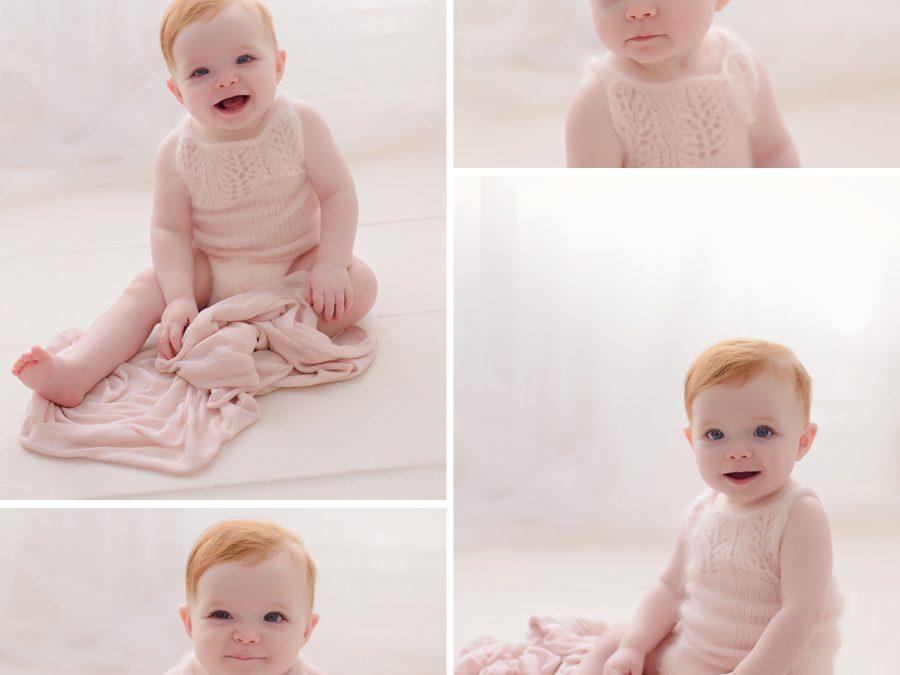 Caremy's first year | Harrisburg newborn photographer